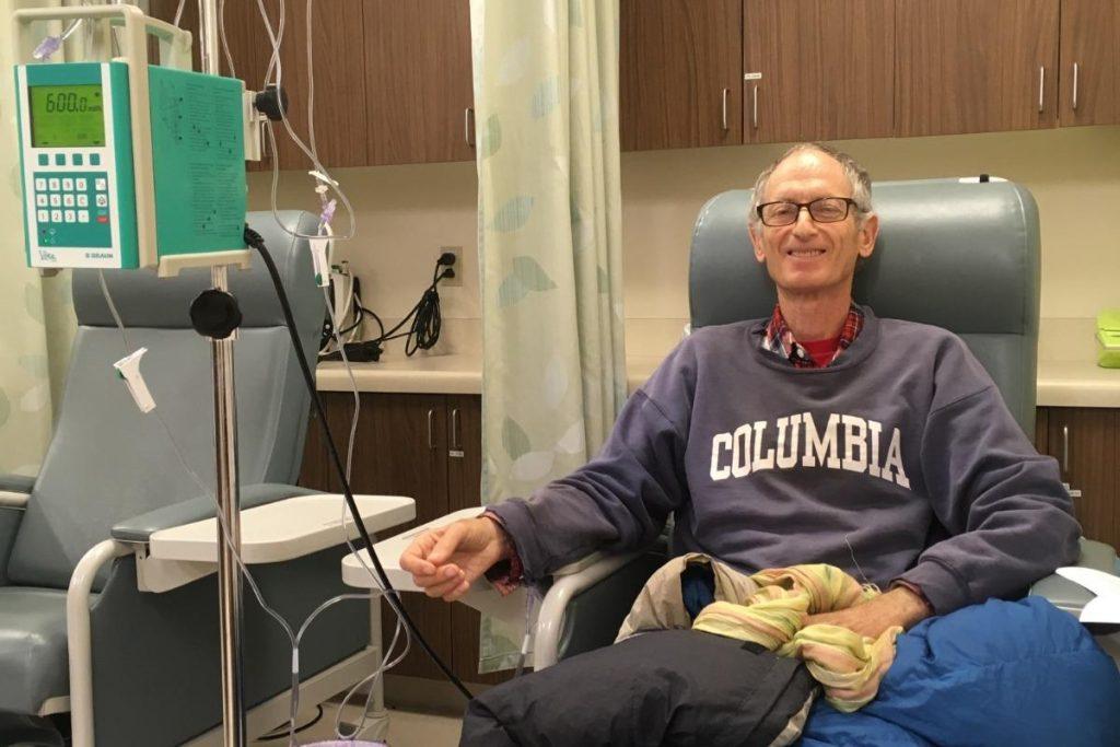 Stuart at the Hospital