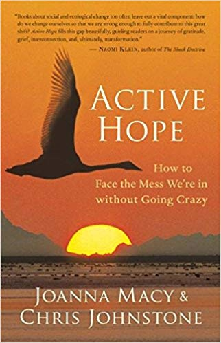 """""""Active Hope: How to Face the Mess We're in without Going Crazy"""" by Joanna Macy & Chris Johnstone"""