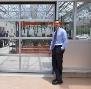 Algal Greenhouse Opening