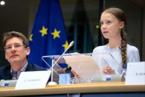 Greta Thunbergurges MEPs to show climate leadership