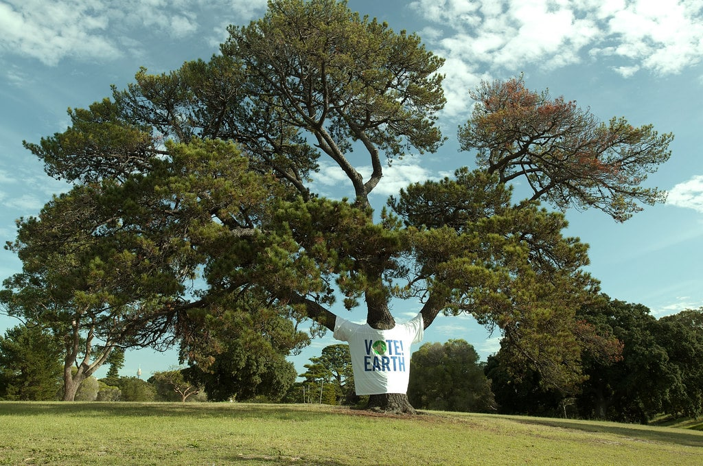 Vote Earth Tree