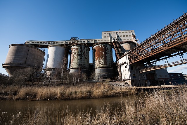 Chemical Plant Industrial Facility F
